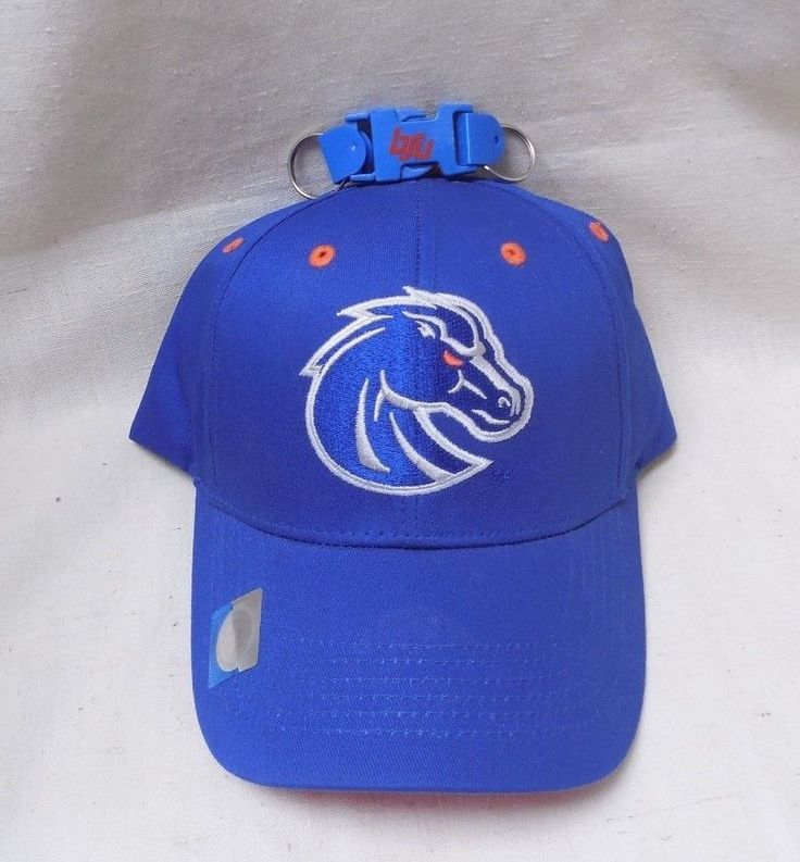 Boise State Broncos Hat & Keychain Blue & Orange With Tags Never Been Worn #BoiseStateBroncos
