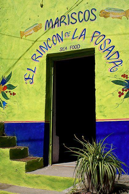 Mariscos ~ El Rincon de La Posada / Lago de Chapala, Jalisco. México. Ute Hagen ~Via Minna S-C