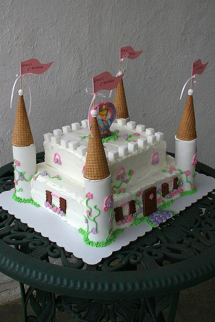 cinderella castle cake | Cinderella Castle Cake | Flickr - Photo Sharing!.