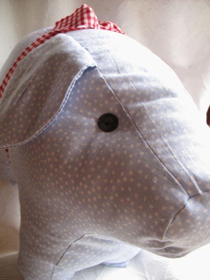Grittlis Blog...: Ein Hausschwein...(+Link zur Anleitung!)