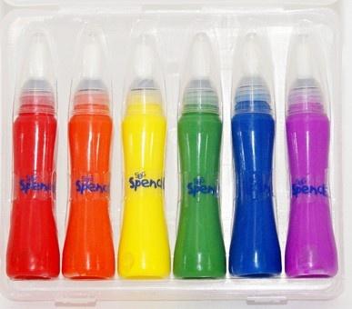 Spencil Paint Pen Set