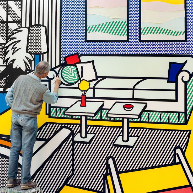 Roy in Yellow Interior  Laurie Lambrecht  1991