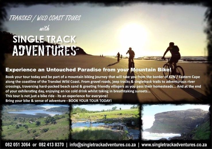 For an Experience of a life time come join us SINGLETRACK ADVENTURES and  MTB in one of the most unspoiled areas. We will take you on an exp...192344076