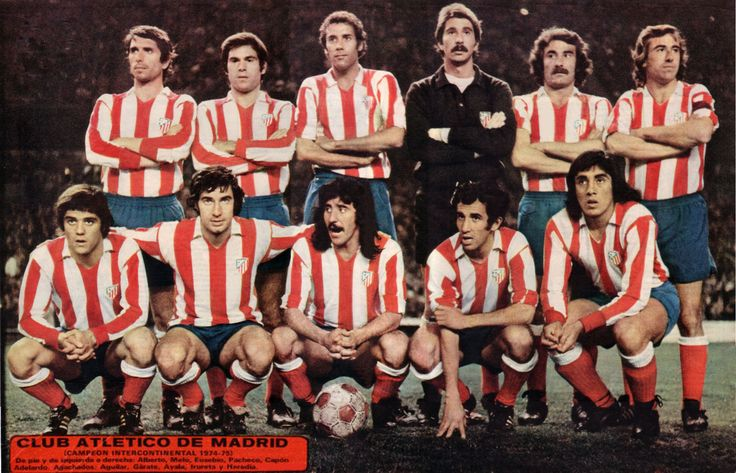 ATLETICO DE MADRID - CAMPEON INTERCONTINENTAL - 1974