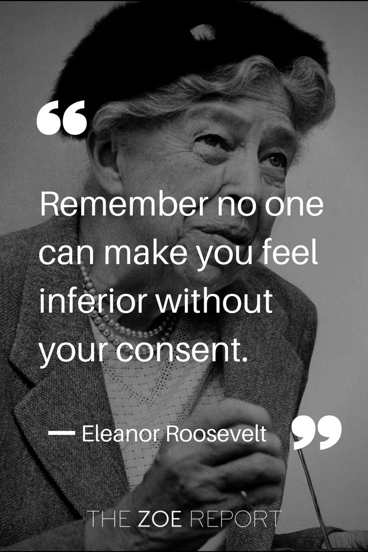 Inspiring quote from Eleanor Roosevelt