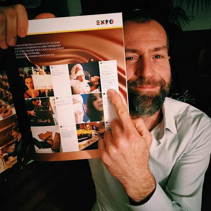 """Scoprire una mia foto all'interno del magazine Lindt """"Lettere di Cioccolato"""" è stato un piacere davvero grande. Grazie @lindtitalia ma soprattutto grazie a @antican ! ;-) by dariomino"""