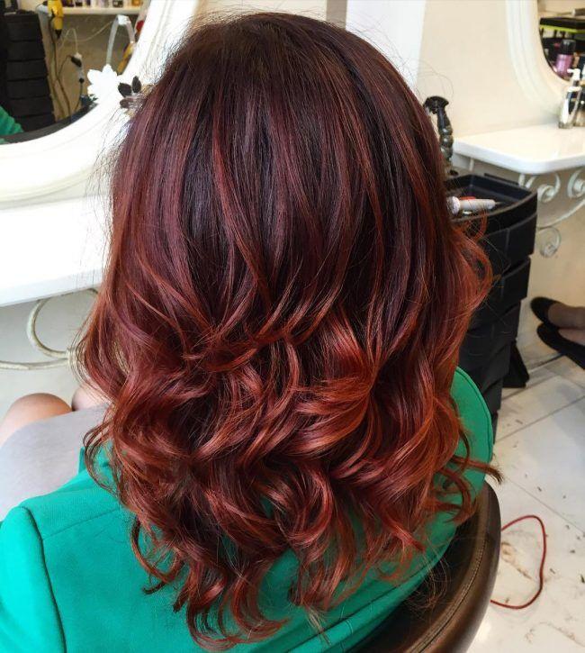 Dreamy Copper Balayage Hair Pinterest Copper