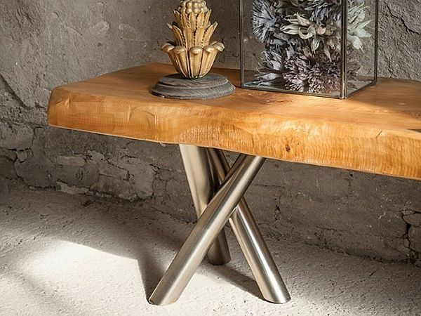Tree Trunk Decor Ideas: Tables, Stools, Mirrors And Floating Shelves