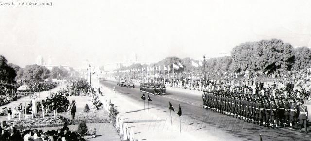 The very first #Republic #Day #celebration did not have the parade and other activities. Dr #RajendraPrasad the first #president of the #Republic of #India took oath in the Durbar Hall of the #government house and the #Indianflag was #hoisted in the Irwin Stadium. The first chief guest of the Republic Day celebration was President sukarno of Indonesia.