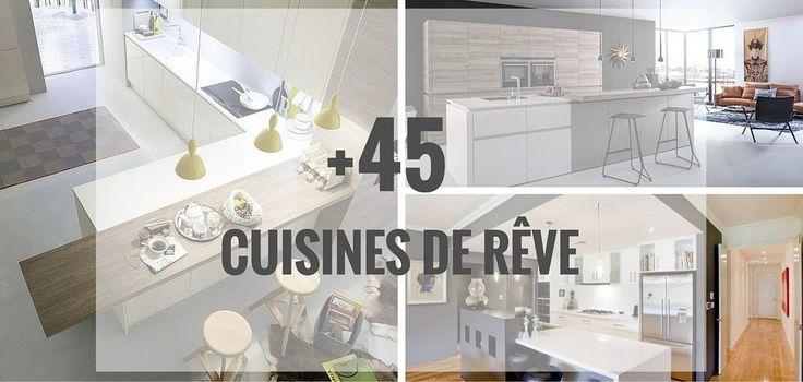 Idées et inspirations pour cuisines modernes et cuisine contemporaines ! Découvrez des photos et des idées shopping de cuisines modernes et contemporaines.