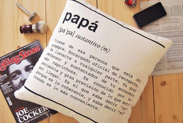 Cojín Papá - definición