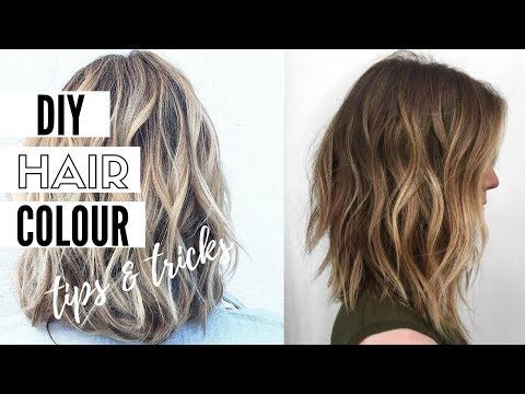 How To Color Your Hair At Home - Home Hair Dye Tips And ...