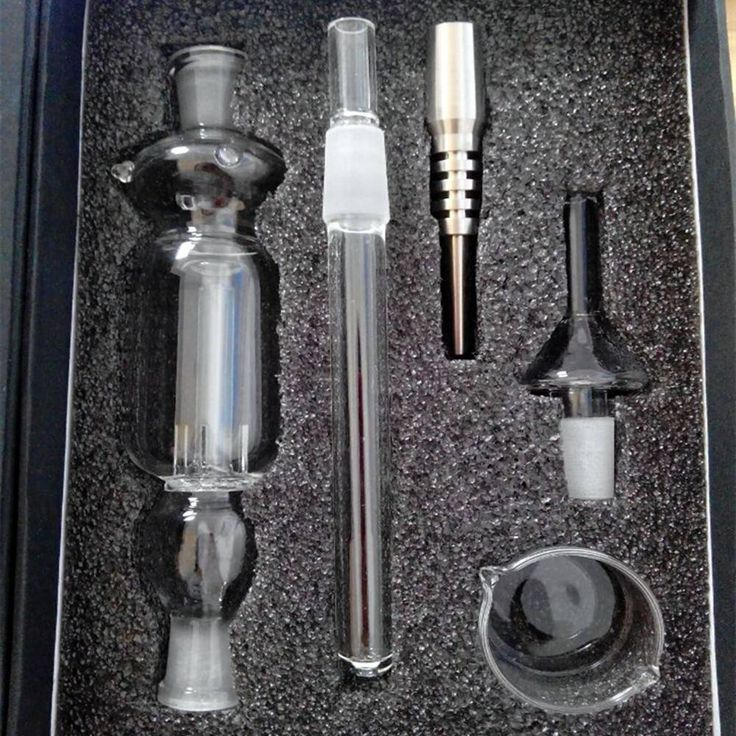 Nector Collector Kit 14mm 19mm Joint Honey Straw Nectar Nail Titanium Tip Dab For Glass Water Bong
