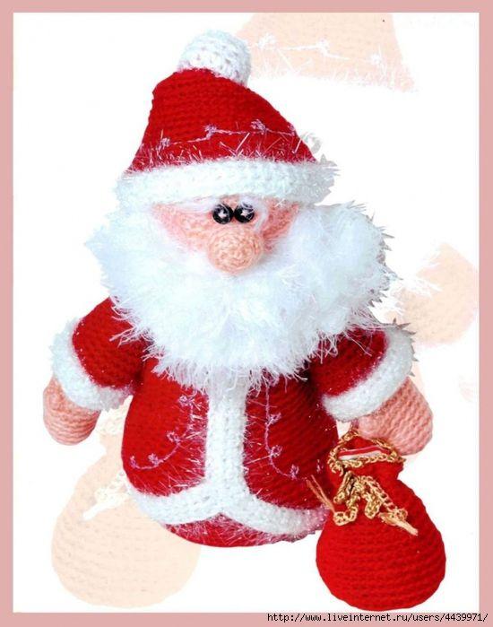 Озорные петельки: Дед Мороз