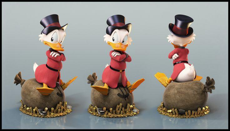 Uncle Scrooge - Grumpy by Eder Carfagnini (2013)