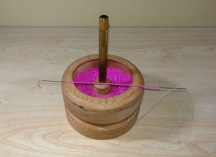 How to Use Beadalon Spin  (Bead Spinner)- Boncuk Dizme Değirmeni