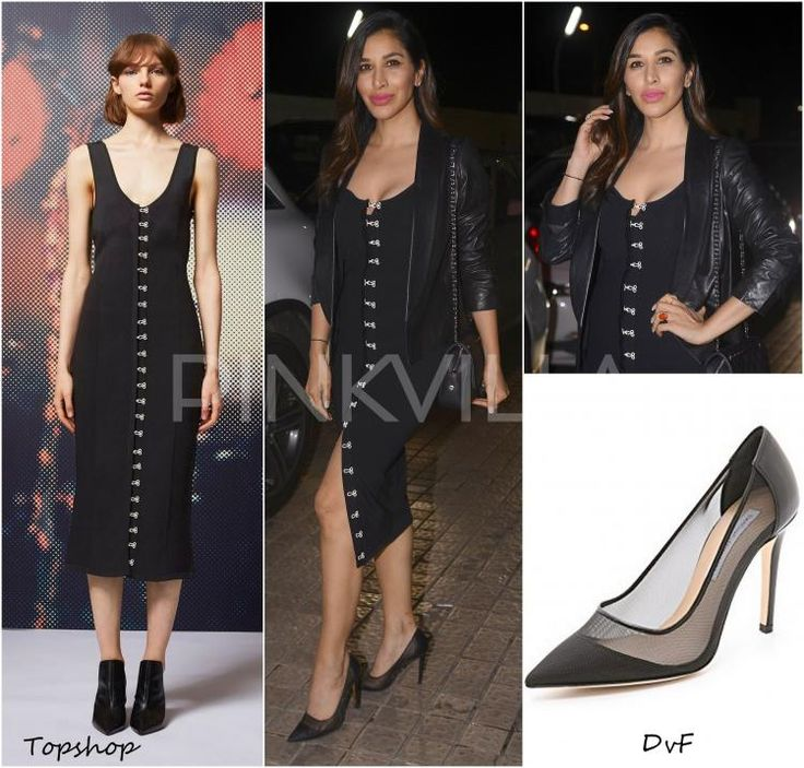 Celebrity Style,dvf,Sophie Choudry,TopShop