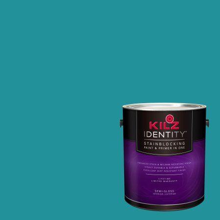 Kilz Identity Interior/Exterior Stainblocking Paint & Primer in One #RF110-01 Southwestern Trail, 1 gallon