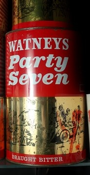 The famous party seven, no party in the 70's was complete without one of these.