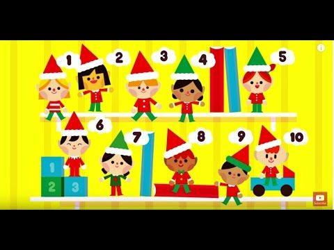 10 Little Elves Song for Children | Elf on the Shelf Song | Christmas Song for Kids | The Kiboomers - YouTube