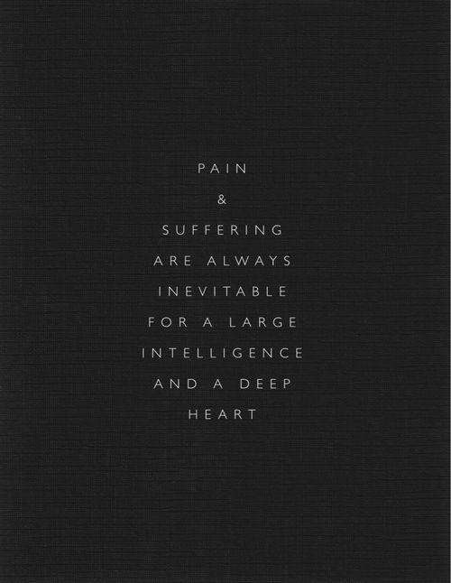 intelligence + a deep heart