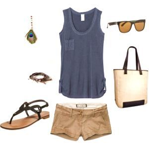 37 Comfy Khaki Shorts Outfits For A Relaxed You #khaki #shorts #outfit #summer #casual #preppy