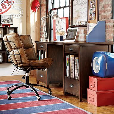 Best 25 Pedestal Desk Ideas On Pinterest Pine Desk