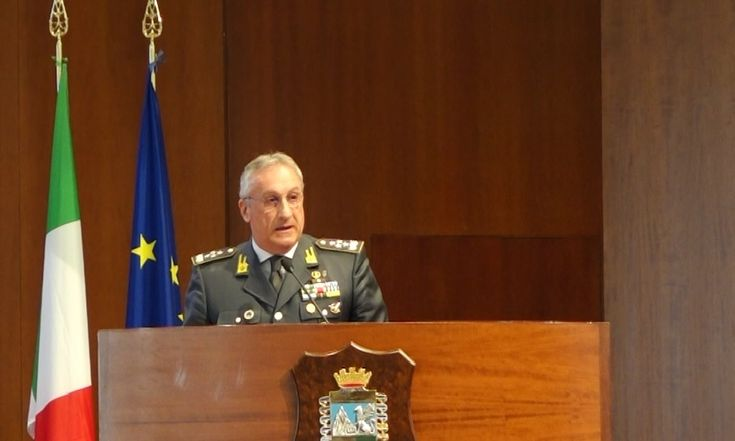 Giorgio Toschi, Comandante Generale della Guardia di Finanza  (foto: Elisabetta Tonni)