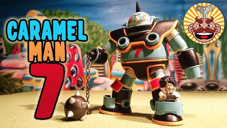 Caramel Man 7 Figure from Dr. Slump Review - Monsieur Toys