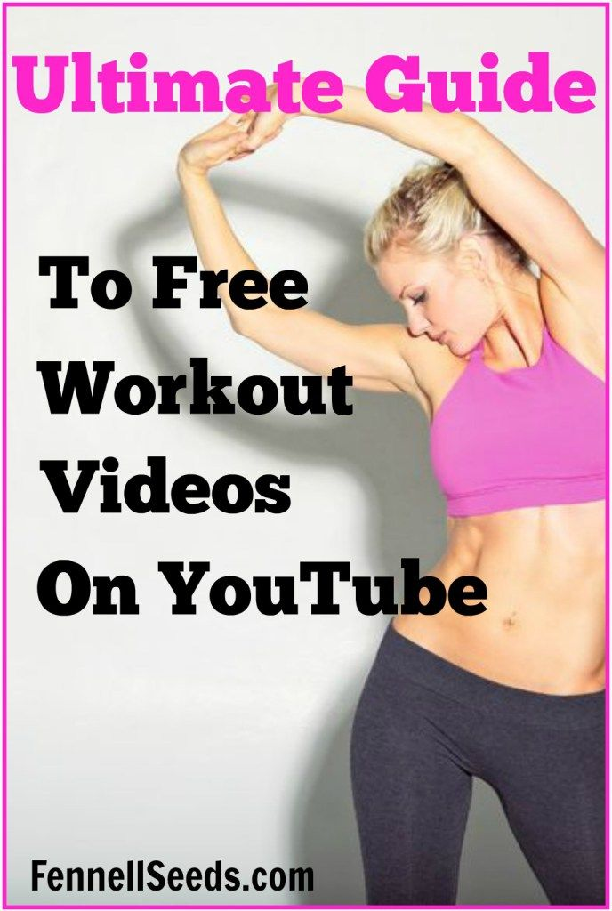 Ultimate Guide to Free Workout Videos on YouTube. I had no idea there were so many free exercise videos on youtube. These are perfect…