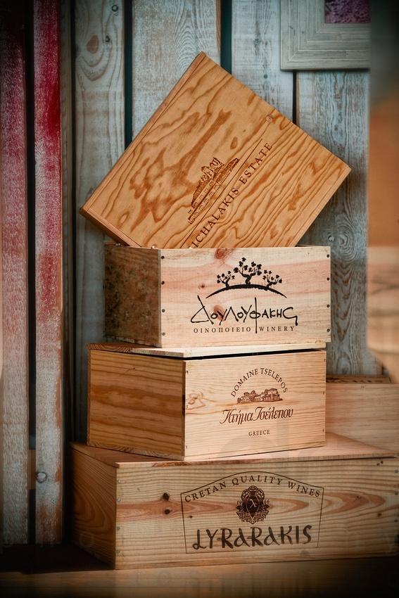Greek Wine Packaging, Crete