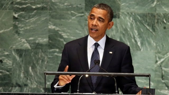 BBC News - Obama's UN General Assembly speech condemns extremism#sa-ns_mchannel=rss_source=PublicRSS20-sa