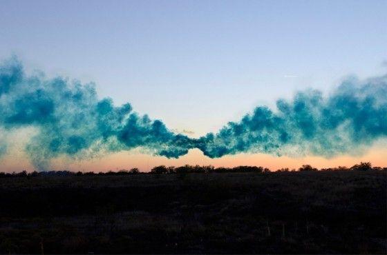 Irby Pace - Pop! - Fotografie in cui nuvole di colore invadono il paesaggio