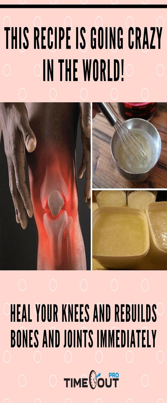 Over the years, it is common for our body to wear out and show age-related ailments; the bone and joint pain , is one of the main players symptoms over the years. Today we will teach you how to prepare a powerful remedy for knee , bone and joint pain, before which the doctors of the world have been totally astonished because of their effectiveness.