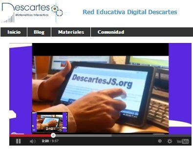 Servidor de contenidos de RED Descartes