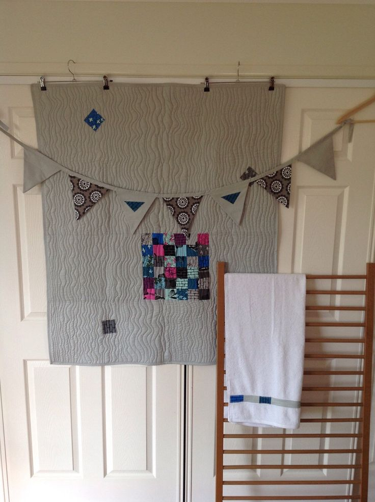Modern Patchwork Cot Set - Unisex by QuiltAroundTheClock on Etsy https://www.etsy.com/listing/263310080/modern-patchwork-cot-set-unisex