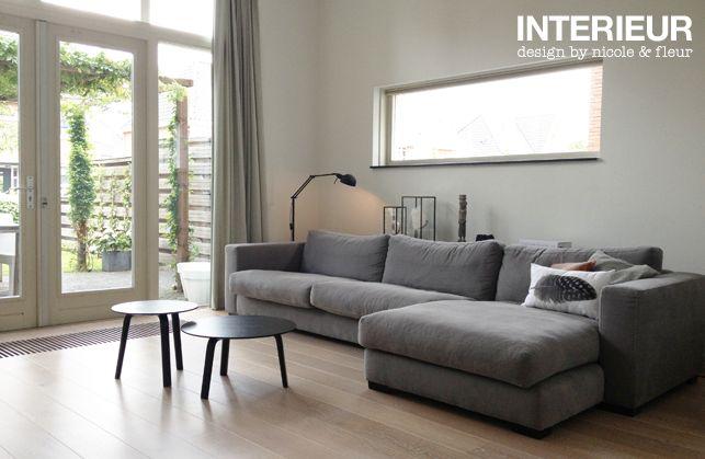 Make-over zithoek  - Interieurstylist - ShowHome.nl