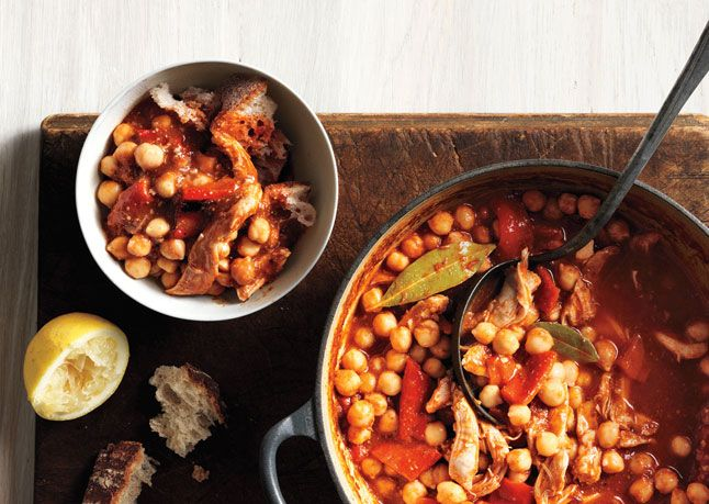 // Chickpea Stew