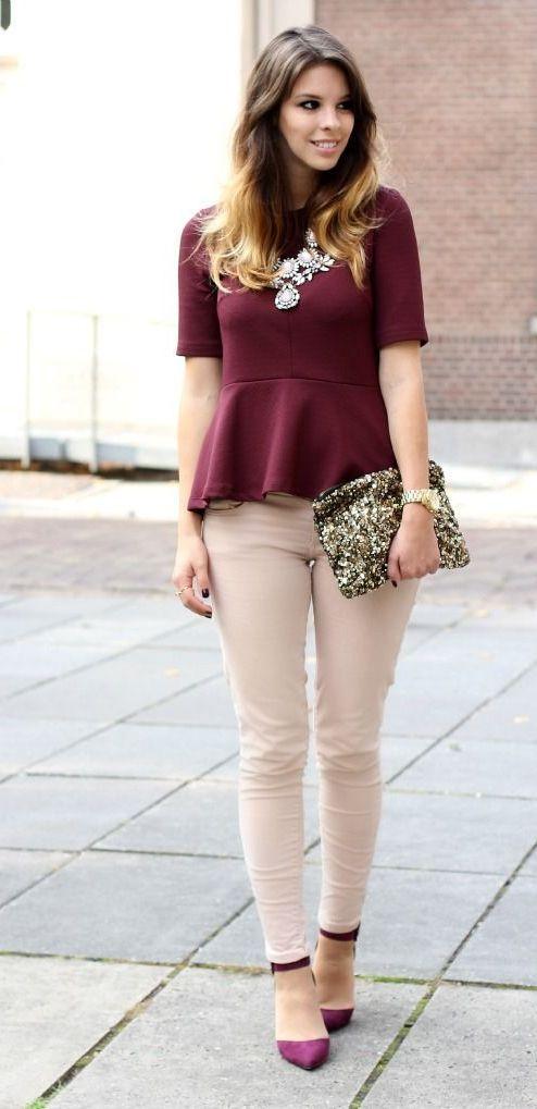 EstiloDF » ¡Sé la más sofisticada con blusas peplum!