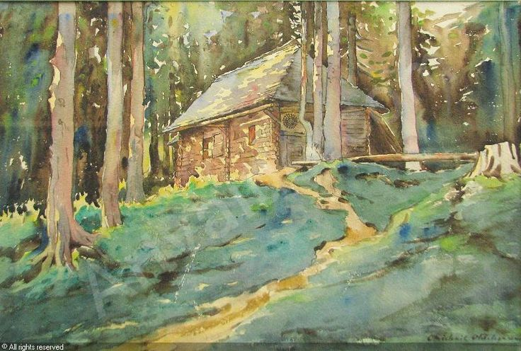 OTETELESANU Otilia Michail,The Little House in the Woods