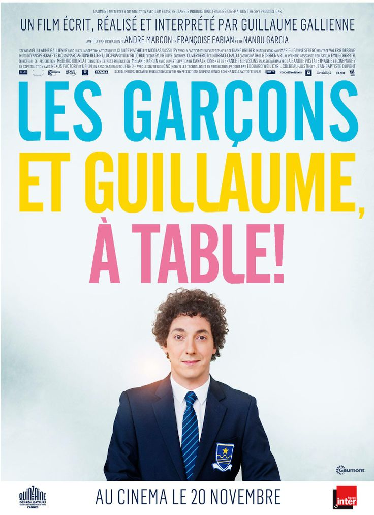 Me Myself and Mum Les garçons et Guillaume, à table! (2013) Director: Guillaume Gallienne