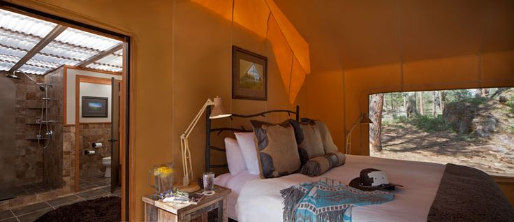 Tent Bedroom Glamping And Moonlight On Pinterest