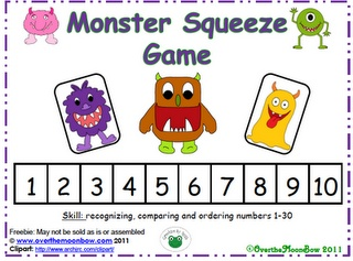 ... Monsters on Pinterest | Monster games, Play dough and Teacher notebook