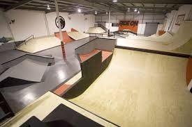 Image result for indoor skateboard ramp