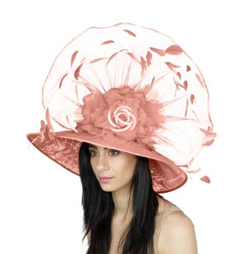Hats By Cressida Beautiful Kentucky Derby Silk and Feather Large Hat Women's - Candy Pink Hats By Cressida http://www.amazon.com/dp/B00C8AMS28/ref=cm_sw_r_pi_dp_uWm8vb0D1QZ1W