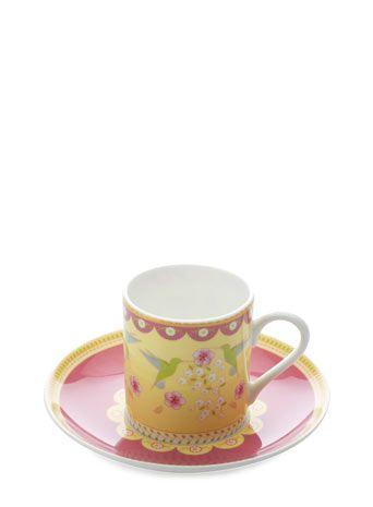Maxwell Williams Enchanté Antoinette Demi Cup & Saucer