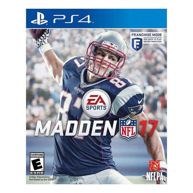 Madden NFL 17 for PS4, Multicolor