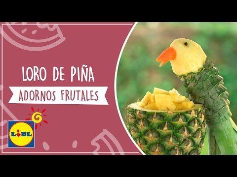 Loro De Piña - Adornos Frutales - YouTube
