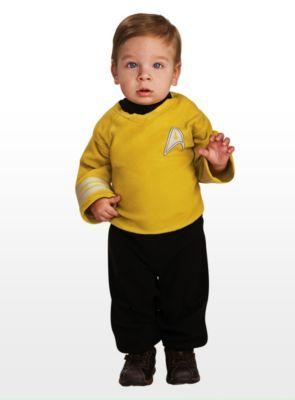 Star Trek Captain Kirk Babykostüm - same DIY baby!