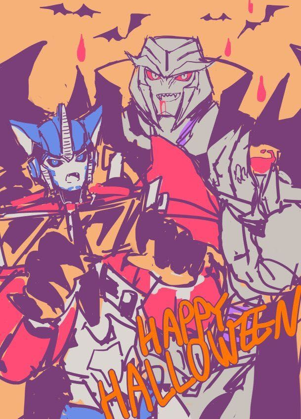 Transformer High (Transformers x Reader) Hiatus - 👻Happy Halloween